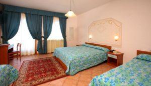 Le camere dell'hotel Splendid di Andalo
