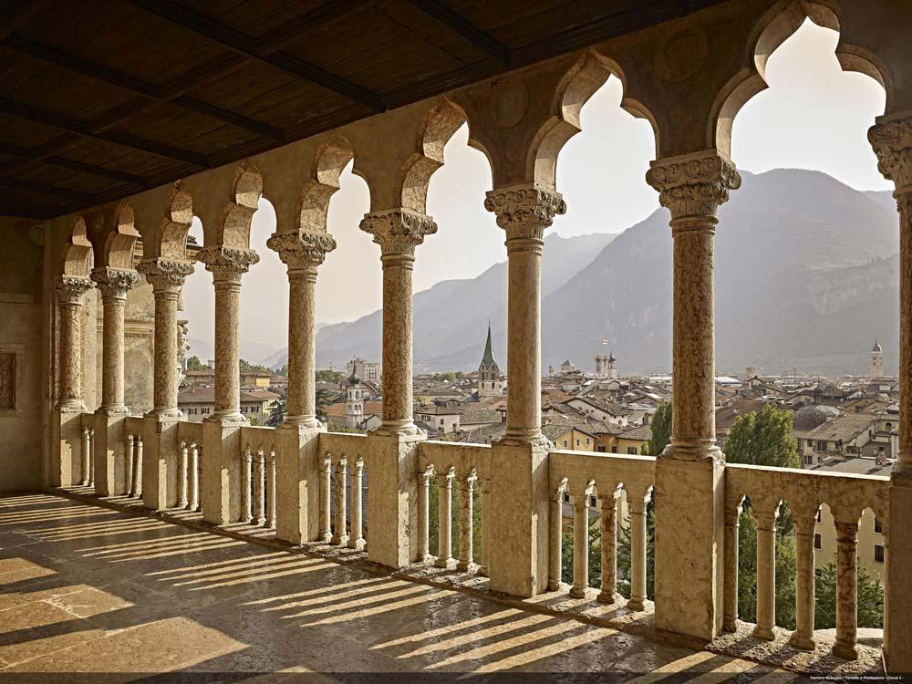 Trento - Castello del Buonconsiglio - Colonnato