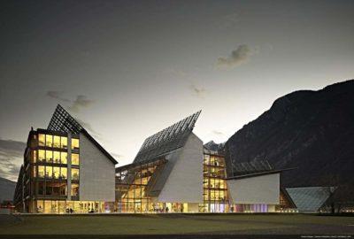 Muse - il museo delle scienze di Trento progettato da Renzo Piano