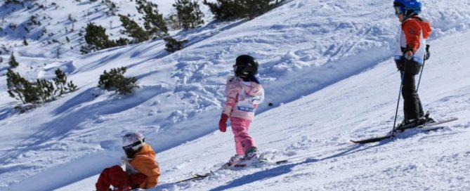 Campi scuola sci per bambini - foto Teyssot