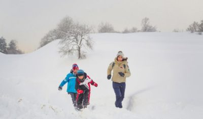 Passeggiata sulla neve - Storytravelers